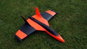 Funjet von Multiplex fertig lackiert Orange/Schwarz