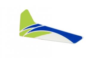 Vertikales Leitwerk grün mCP X