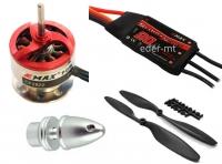 Multikopter Set CF2822 + 20A EMAX Regler Simon Serie + LS ABS/GFK