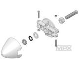 MPX Spinner Mitnehmer Cularis, Easyglider Pro, Heron, Solius