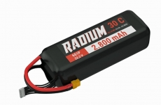Radium 22.2V 6S 2800mAh Lipo XT 60 JST XH