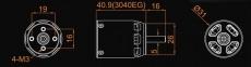 Dualsky XM3040EG-9 KV 1350 Außenläufer