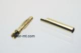 12er Pack 2mm Paar (Buchse+Stecker) Gold