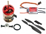 Multicopter Set CF2822 plus 20A  Regler SimonK N-Fet +LS ABS/GFK