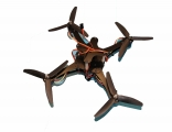 Quadcopterrahmen CR 230 mit Motoren und Regler