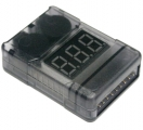 LIPO-CHECKER 1-8 ZELLEN programmierbare Alarmfunktion