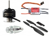 Brushless Hexacopter-Spar-Set GF2210/30 plus 20A  Regler SimonK Opto