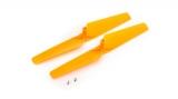 mQX Propeller (linksdrehend) orange (2)