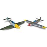 AirCore Me 109 + P-51 Tx-R Prime (Flyzone FLZA3902)