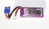 TopFuel LiPo 25C-ECO-X 900mAh 2S