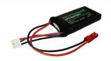 LiPo | 2s1p | 7,4V | 450mAh | 30C | KRYPTONIUM | kompatibel mit JST BEC