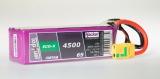 TopFuel LiPo 20C-ECO-X 4500mAh 6S XT90 MTAG